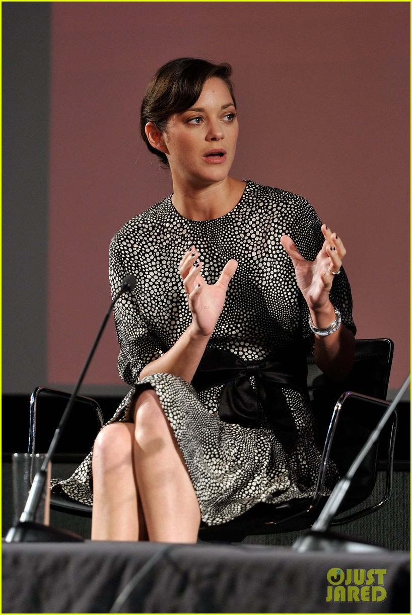 marion cotillard london film festival screen talk 082737994