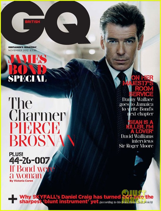 Daniel Craig Covers 'British GQ' James Bond Special Issue ...