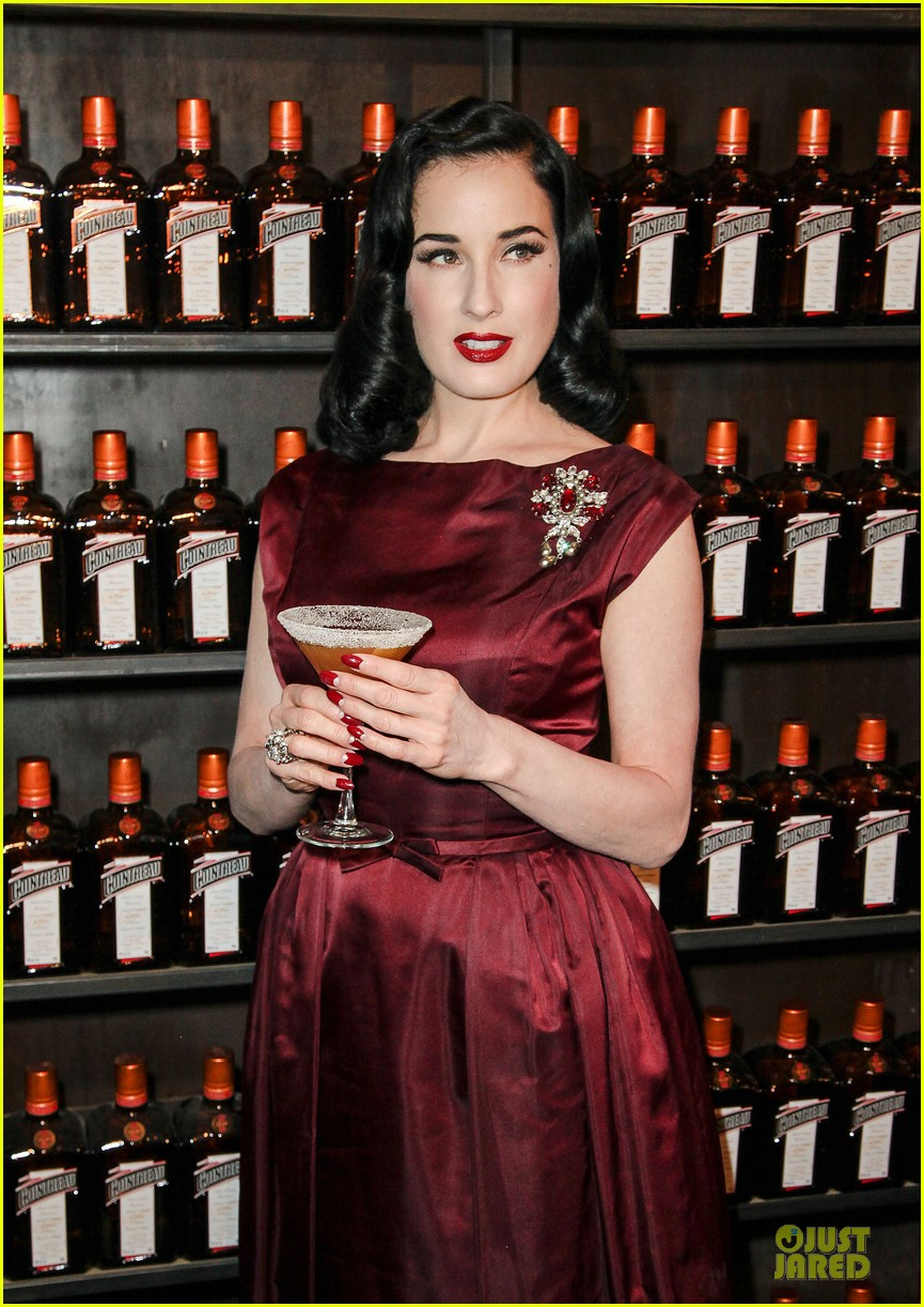dita von teese cocktail debut in new york 082739613
