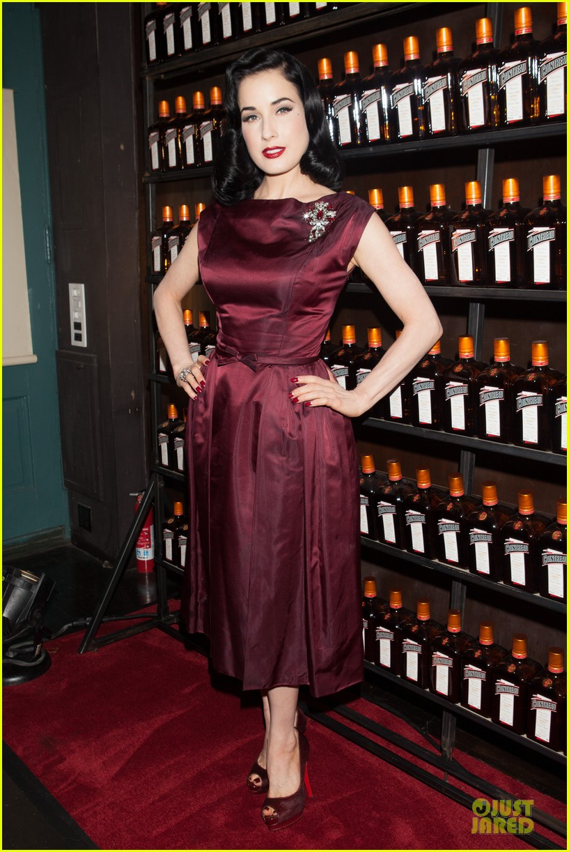 dita von teese cocktail debut in new york 172739622