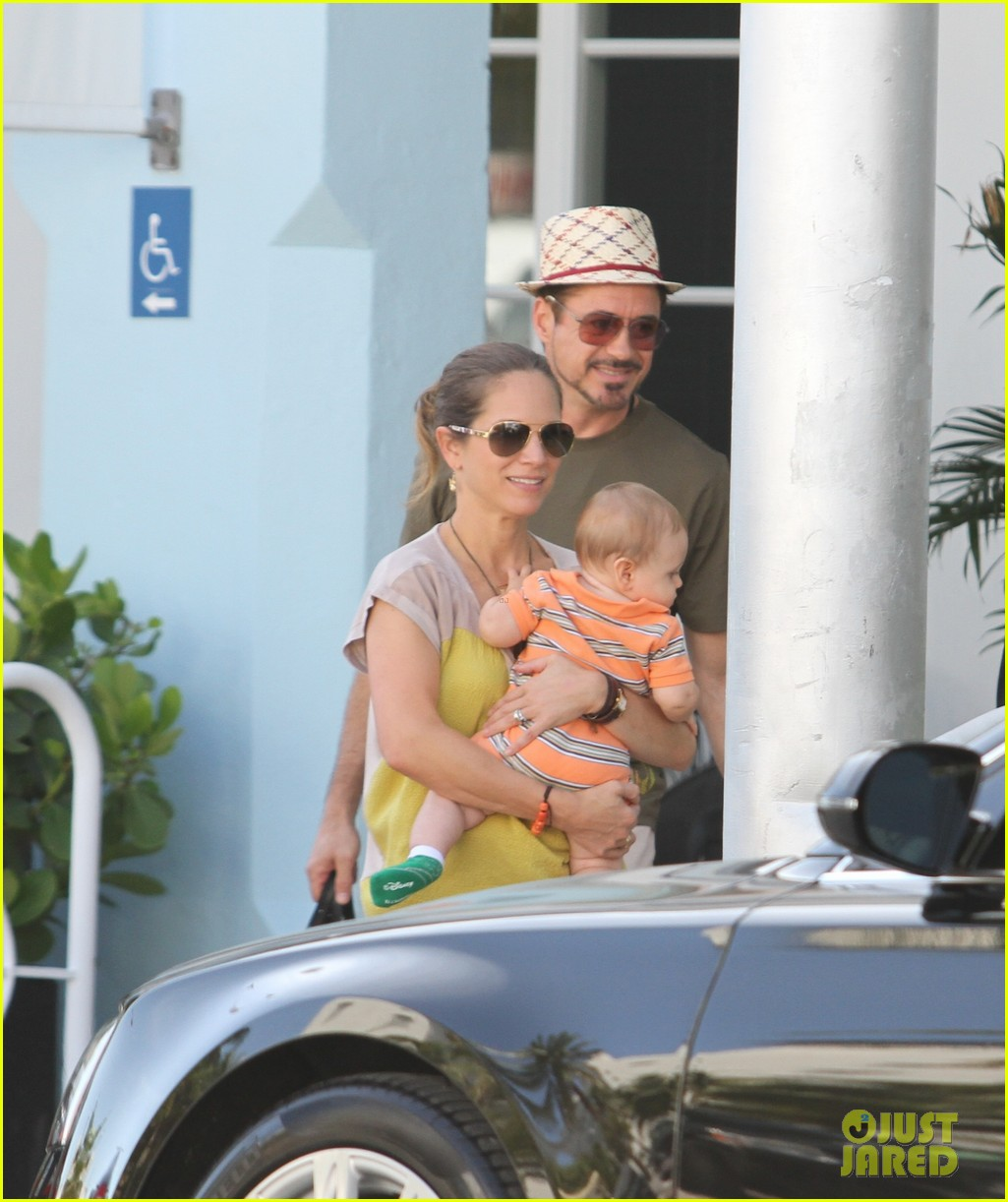 robert downey jr family outing susan and exton 02