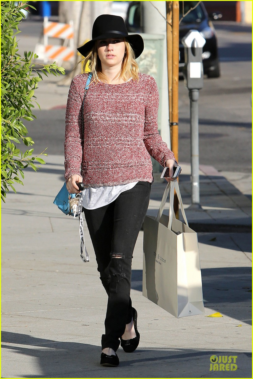 emma roberts promotes earth day 4 22 24