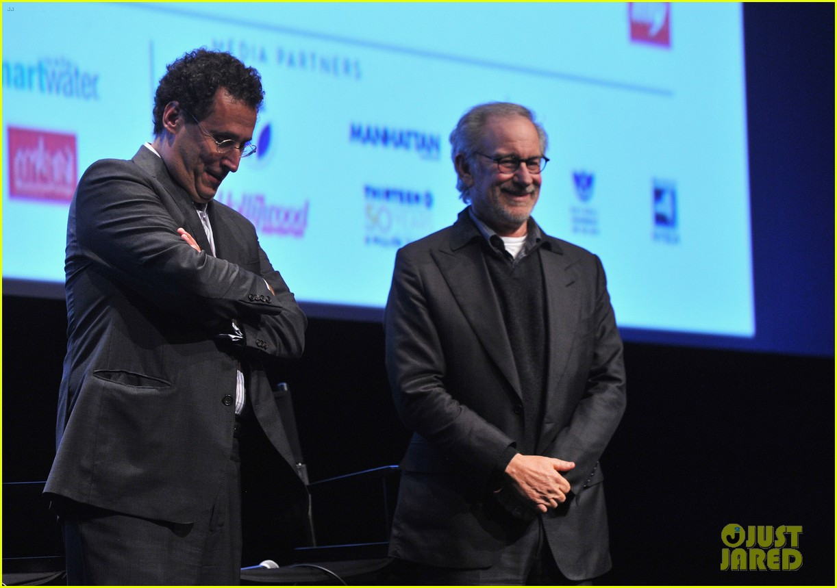 dakota fanning steven spielberg lincoln nyff screening 162735439