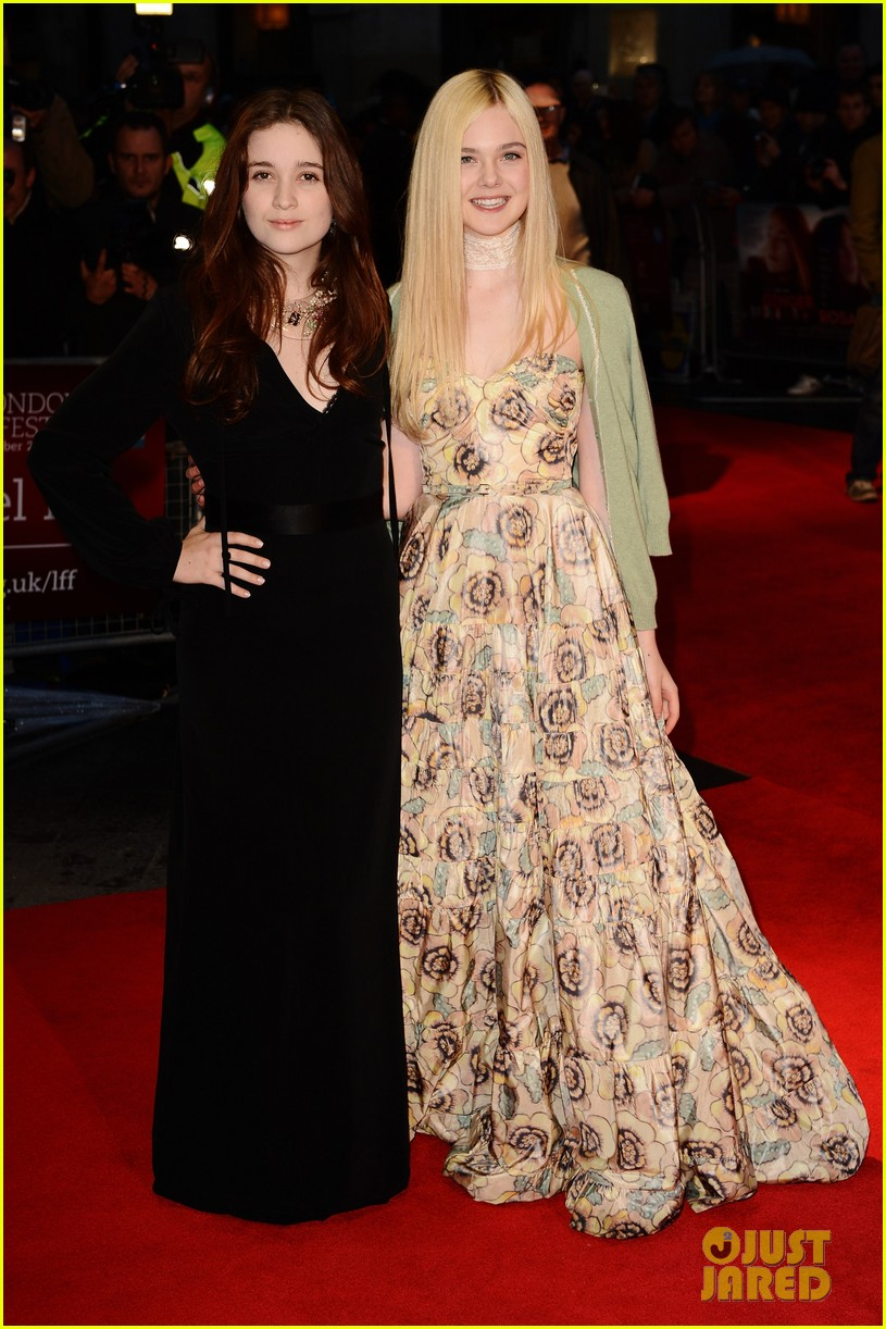 elle fanning ginger rosa london premiere 07