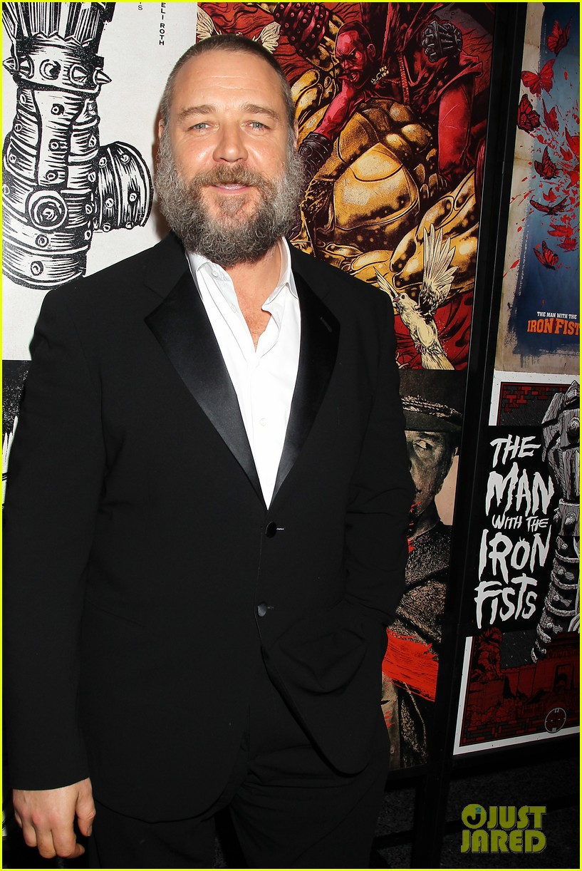 russell crowe iron fists screening 17