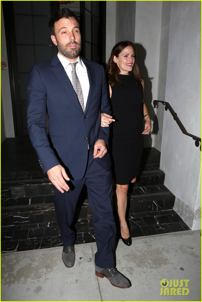 jennifer garner ben affleck fundraiser at spago 072745328