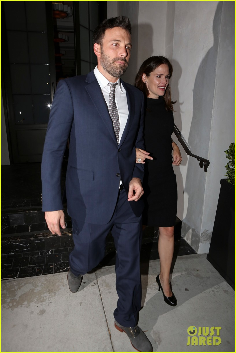 jennifer garner ben affleck fundraiser at spago 09