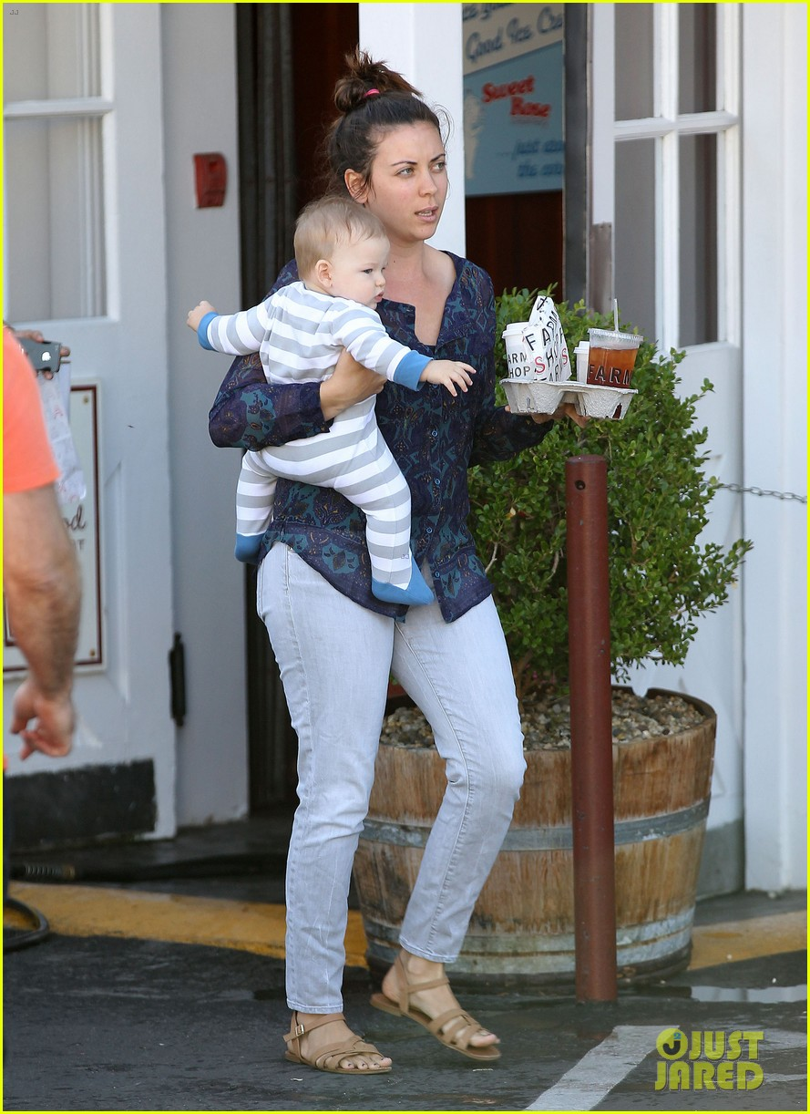 jennifer garner breakfast to go with seraphina samuel 11