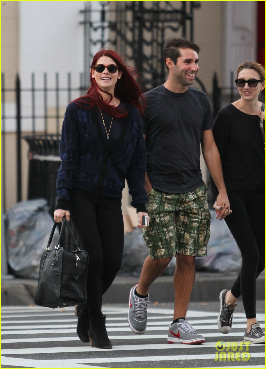 ashley greene new red hair 02