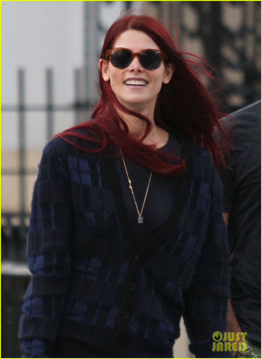 ashley greene new red hair 03