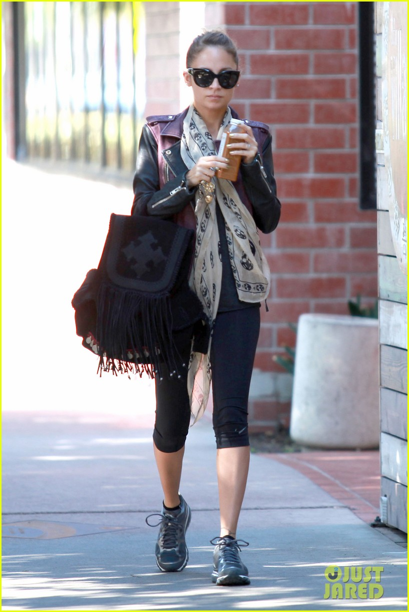 nicole richie works it out in studio city 012749056