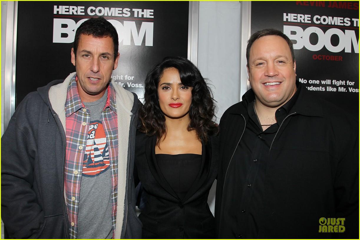 salma hayek here comes the boom ny premiere 042735609