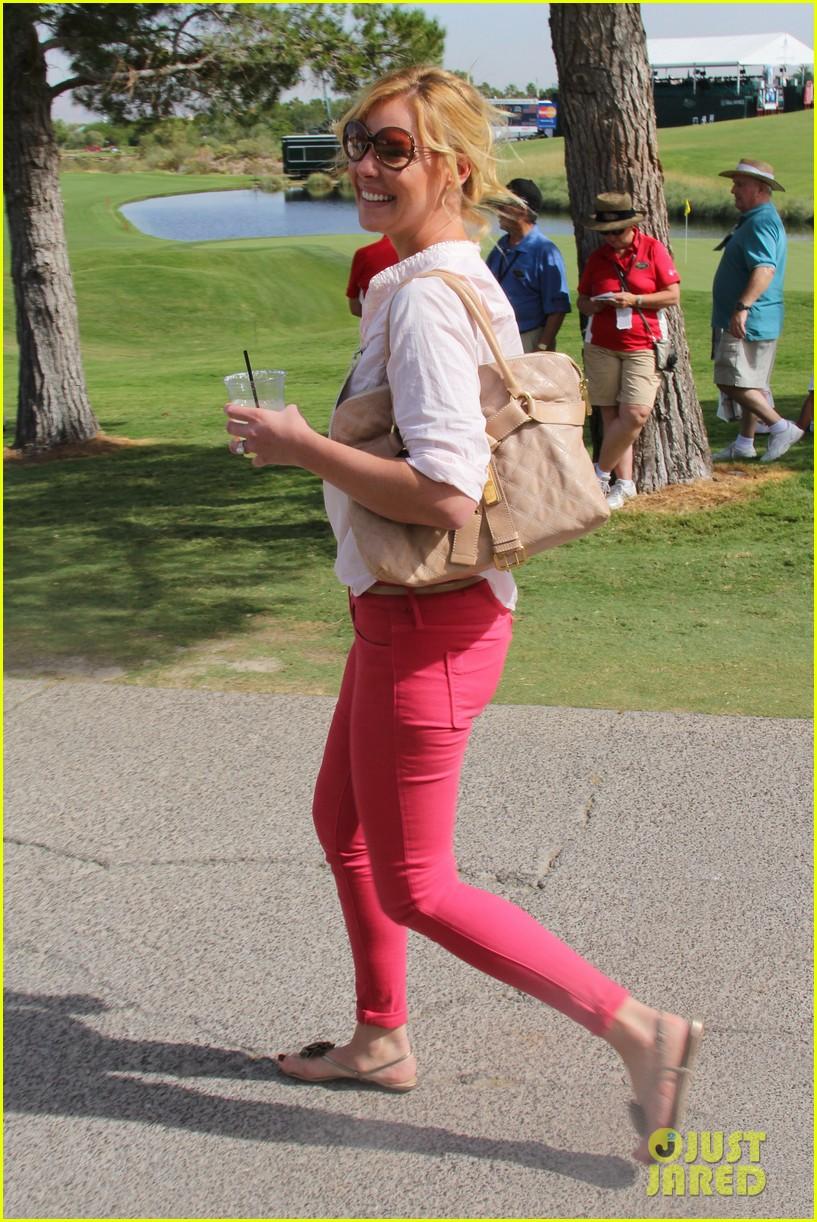 katherine heigl charity golf tournament with josh kelley 032733160