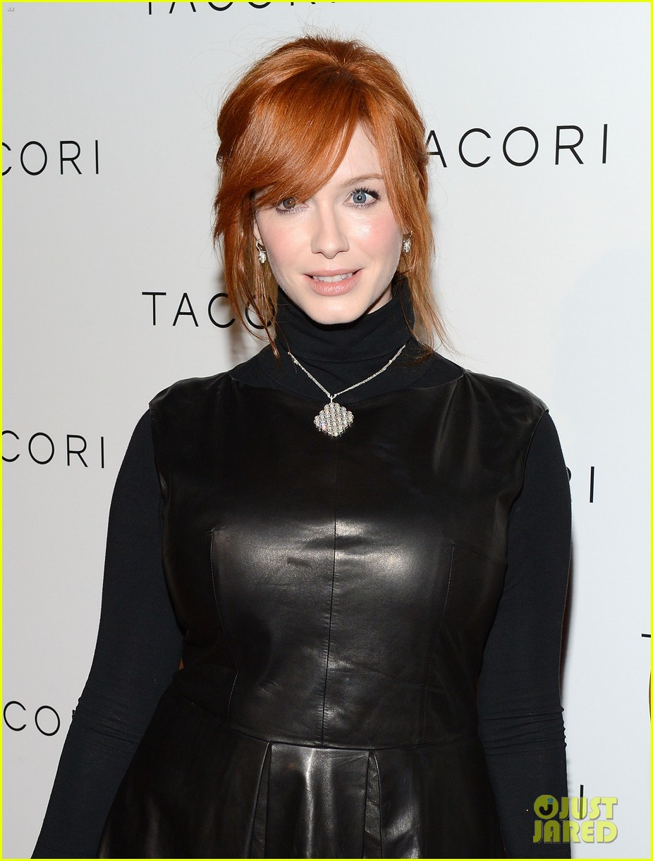 christina hendricks tacori city lights jewelry launch 01