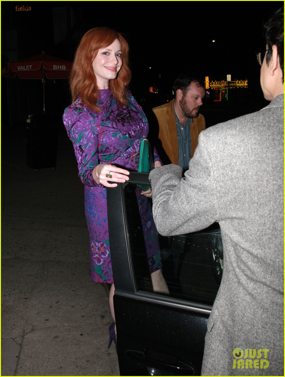 christina hendricks jon hamm separate los angeles outings 01
