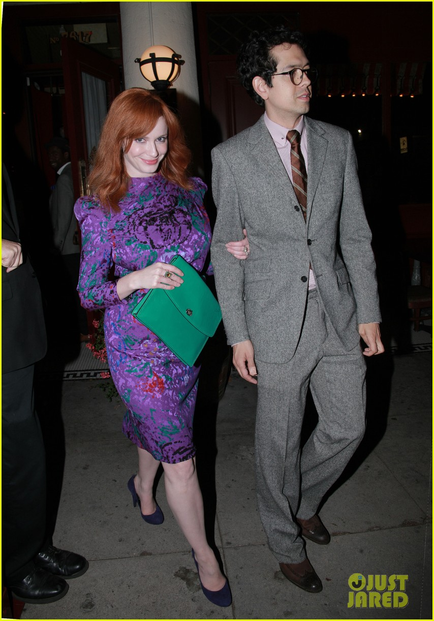 christina hendricks jon hamm separate los angeles outings 02