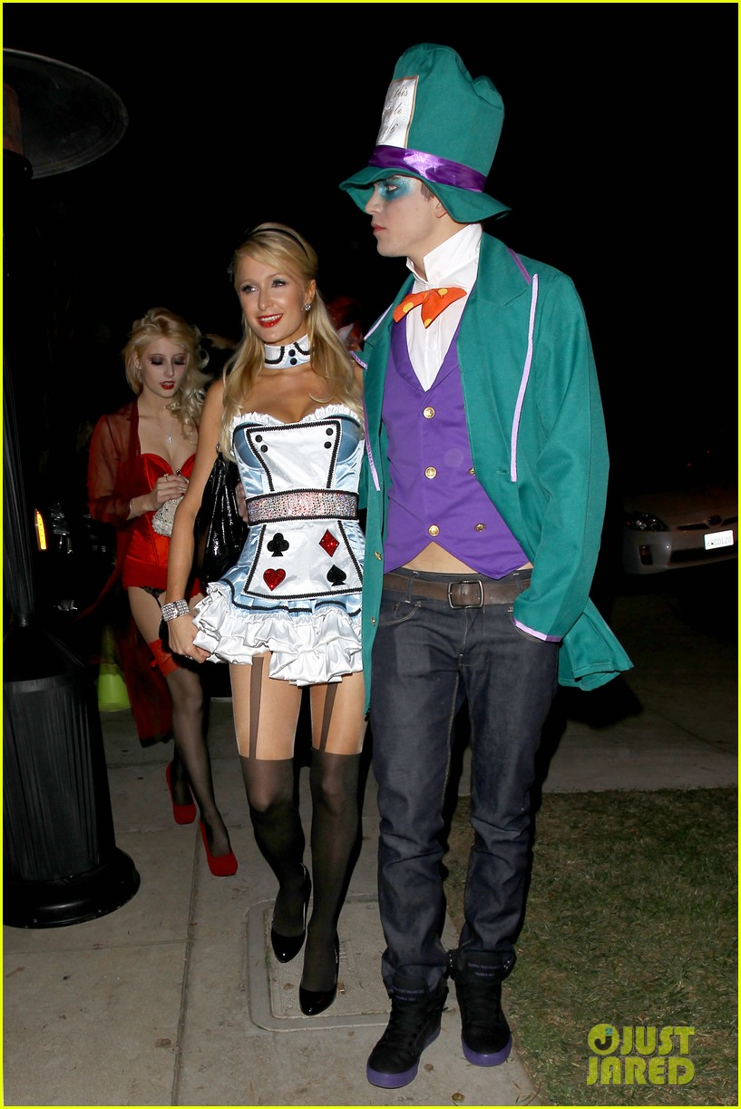 paris hilton river vilperi halloween party pair 13