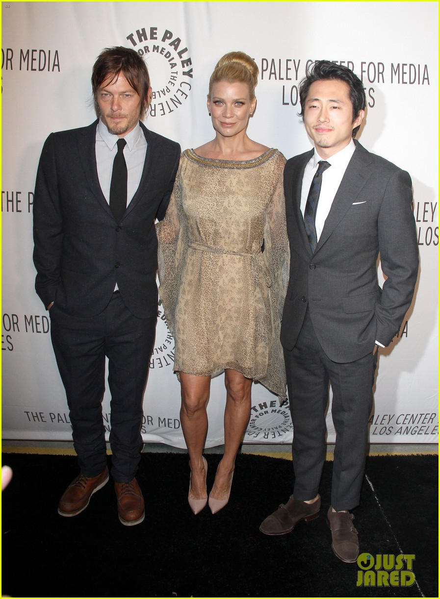 laurie holden norman reedus paley center amc benefit 032743323