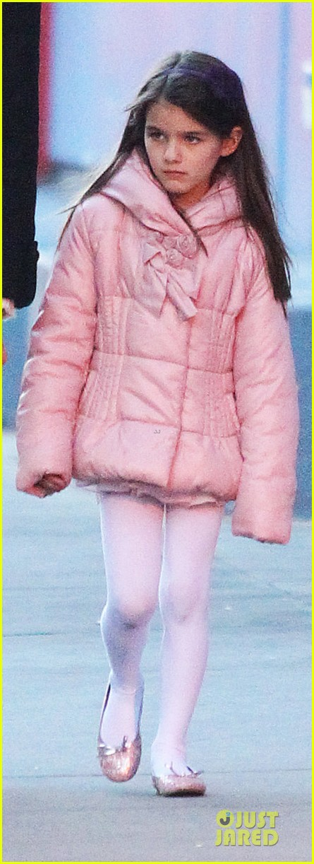 katie holmes suri cruise bowling duo chelsea piers 032742280