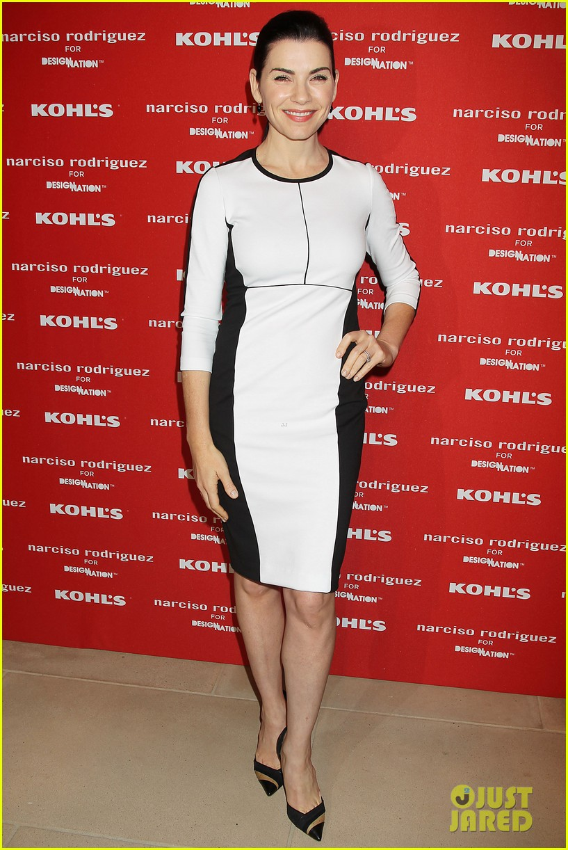 katie holmes emma roberts narciso rodriguez kohls launch party 19