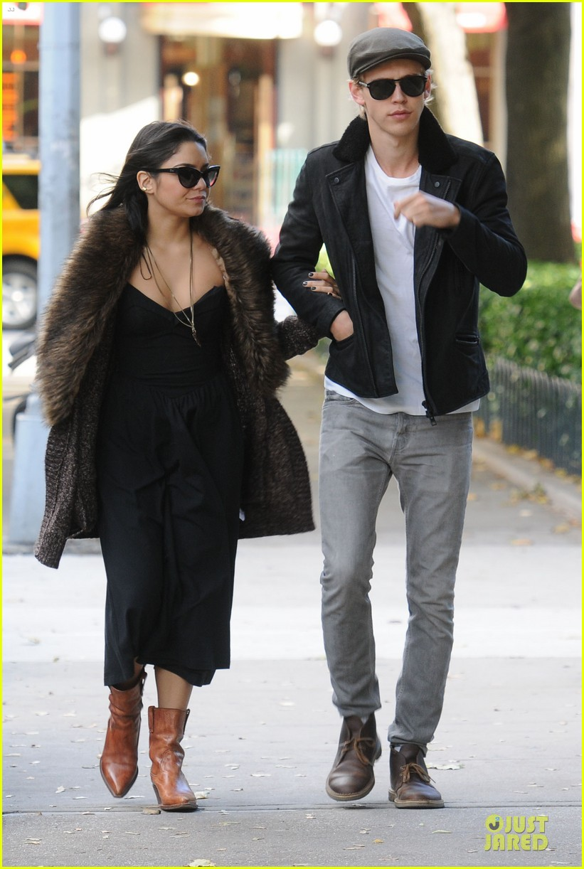 Vanessa with a boyfriend