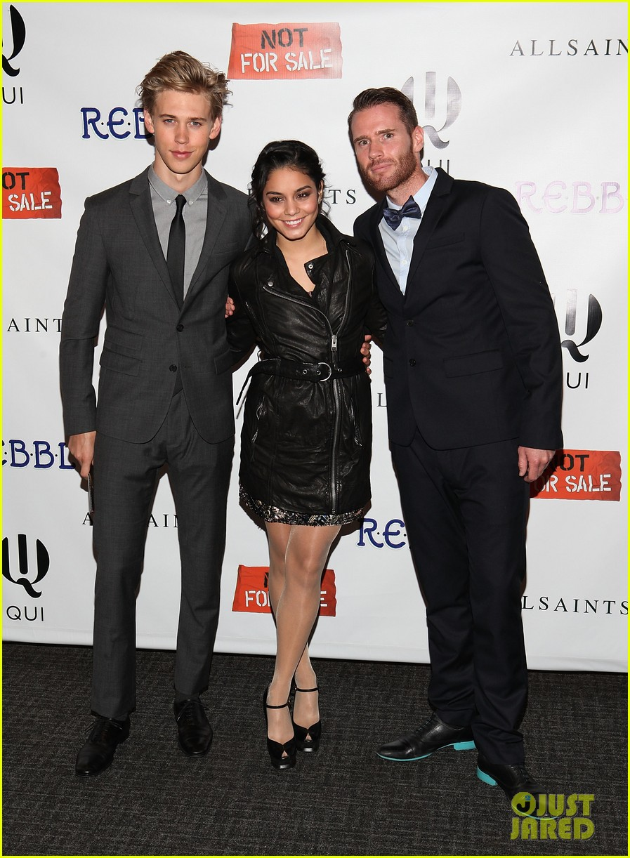 vanessa hudgens austin butler inaugural not for sale gala 03