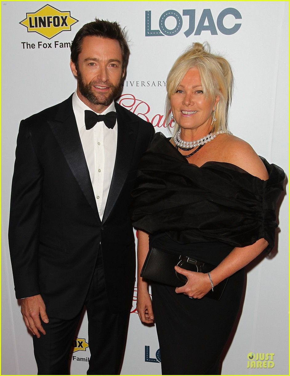 hugh jackman red ball with deborah lee furness 14