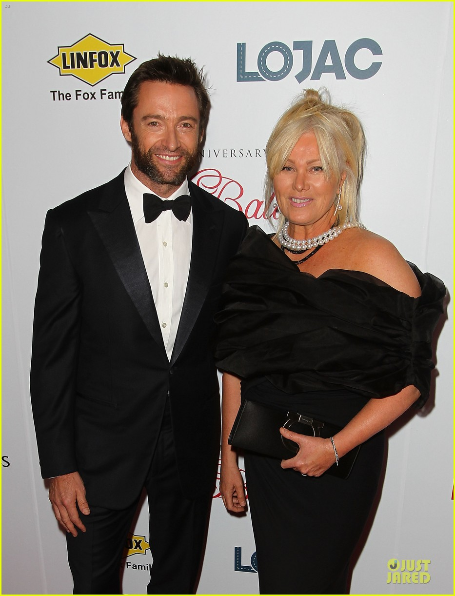 hugh jackman red ball with deborah lee furness 15