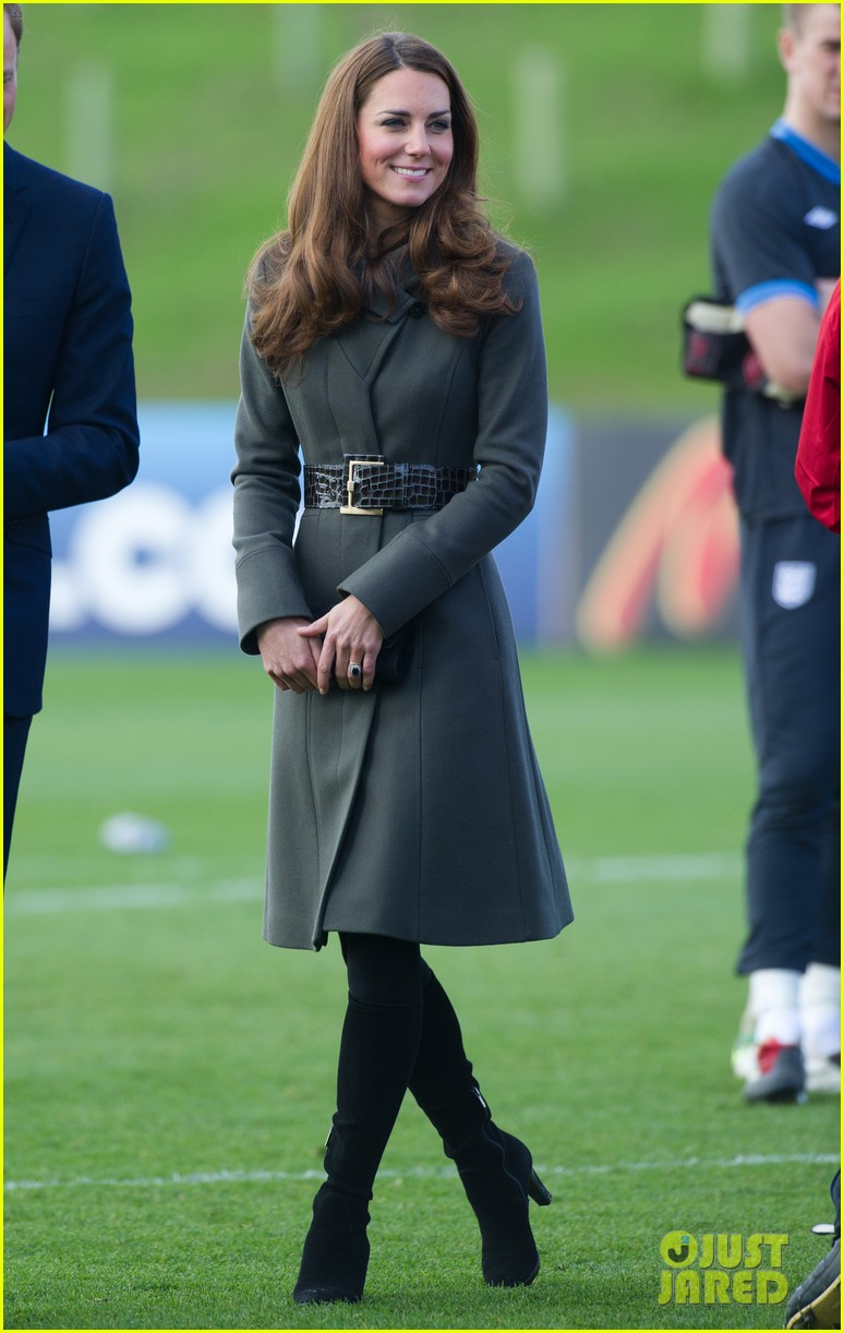 duchess kate prince william st georges park opening 13