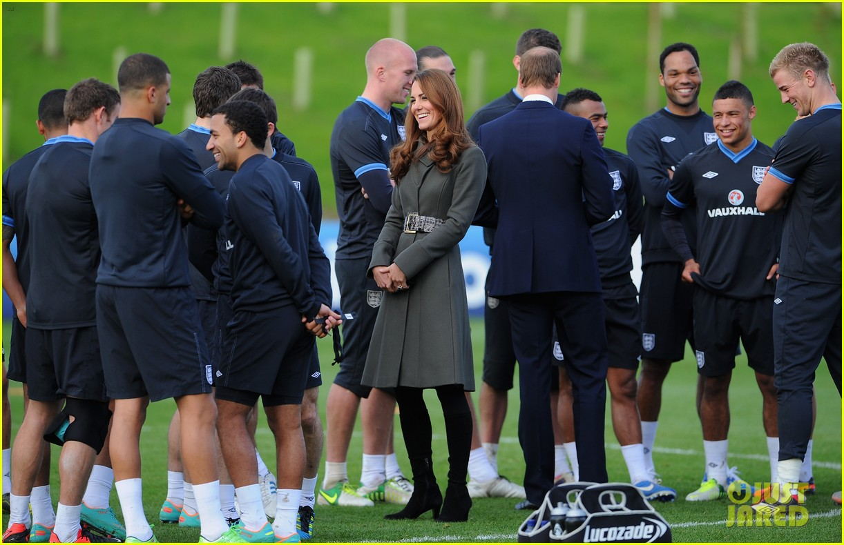 duchess kate prince william st georges park opening 21