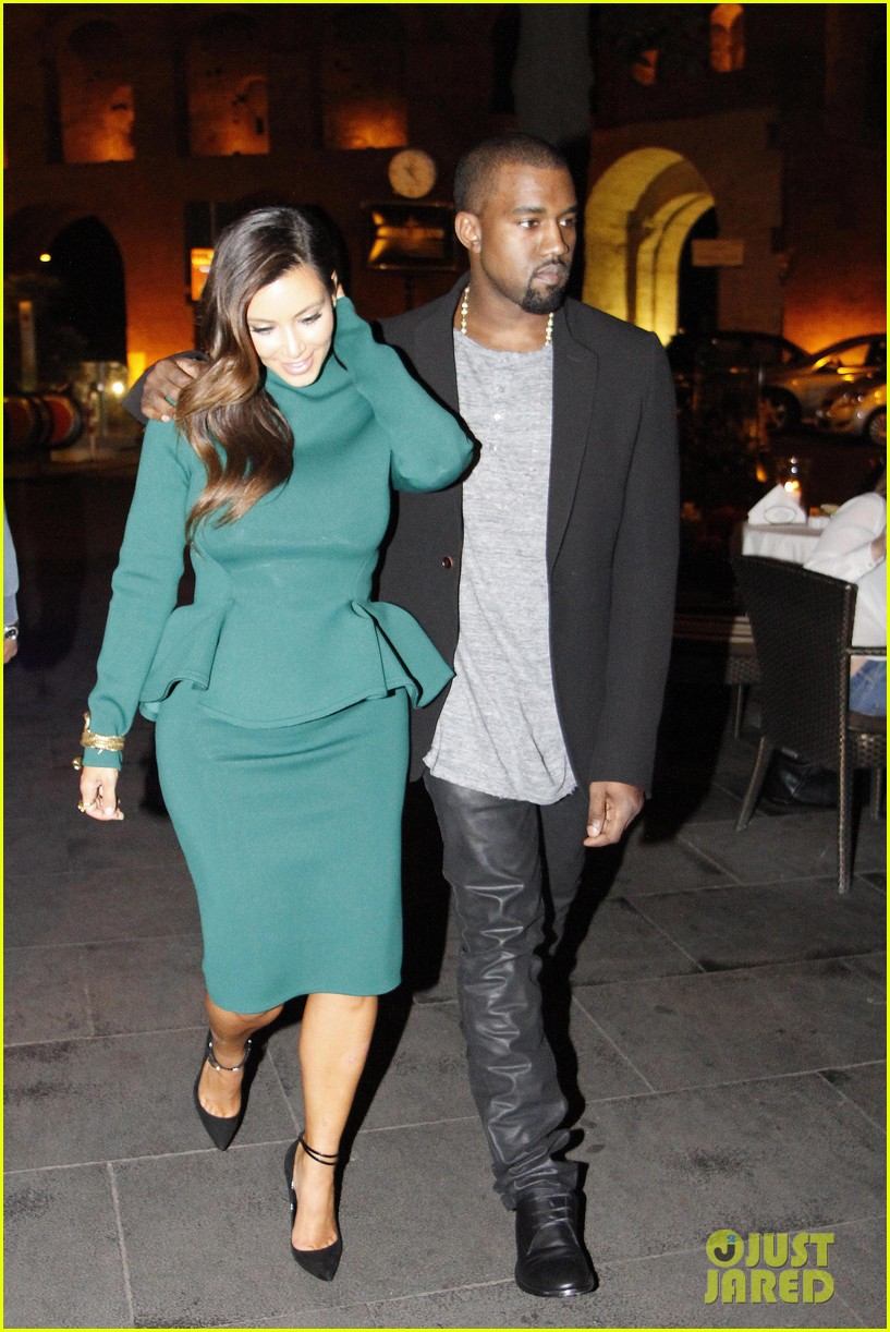 kim kardashian kanye west dal bolognese couple 04