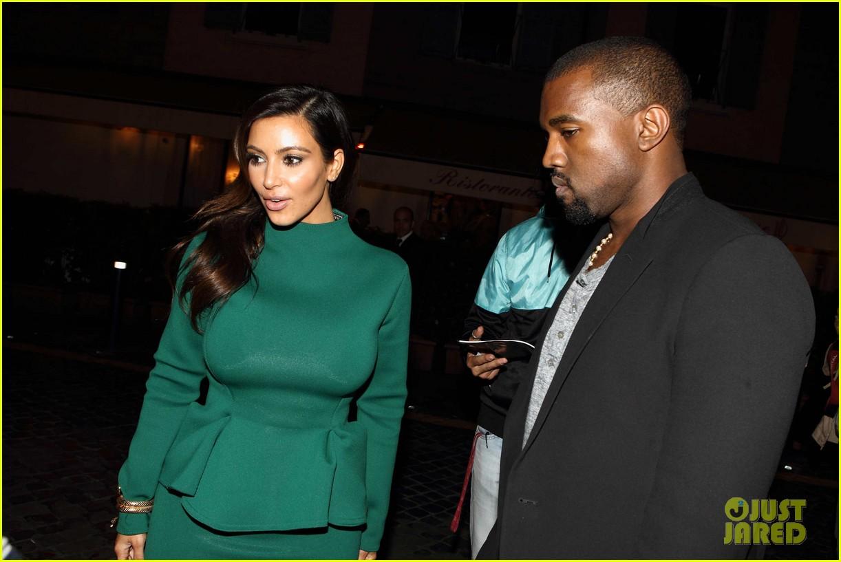 kim kardashian kanye west dal bolognese couple 05