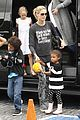 heidi klum sunday fun with  the kids 13