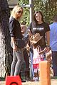 heidi klum soccer game with family 17