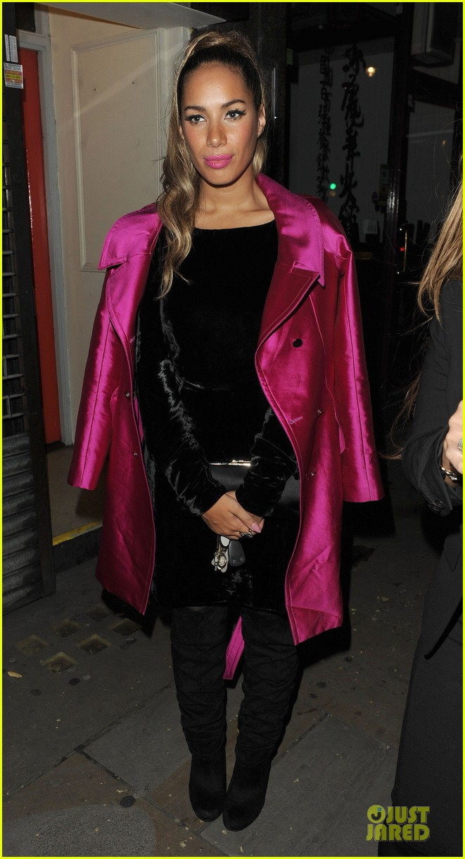 leona lewis mahiki nightclub in london 072737239