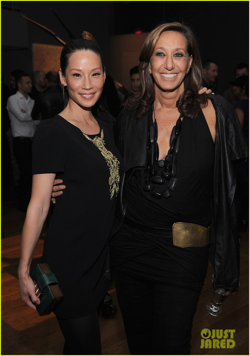 lucy liu behati prinsloo connecting the dots launch 04