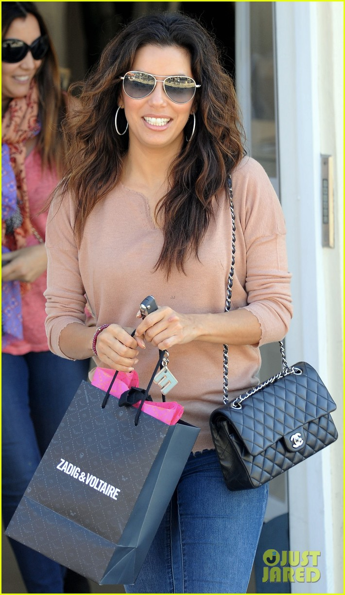 eva longoria smiling sunset shopper 012748400