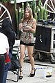 annalynne mccord camera phone fun on 90210 set 09