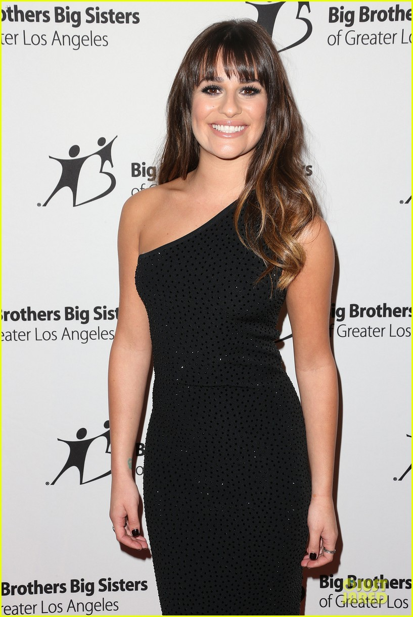 lea michele big brothers big sisters stars gala 04