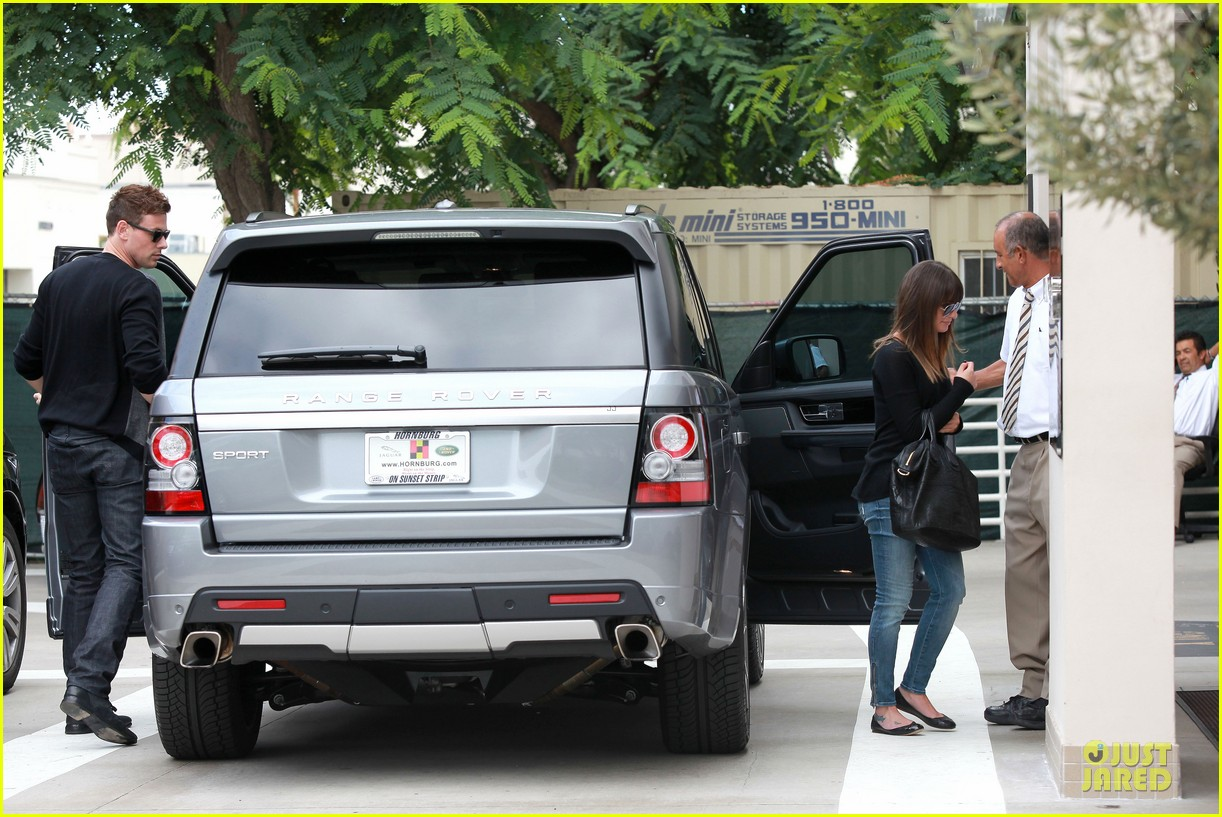 lea michele cory monteith shopping together in beverly hills 062737436