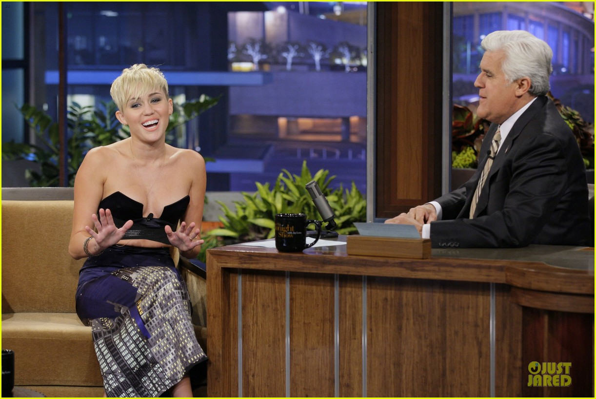 miley cyrus tonight show with jay leno 052737463