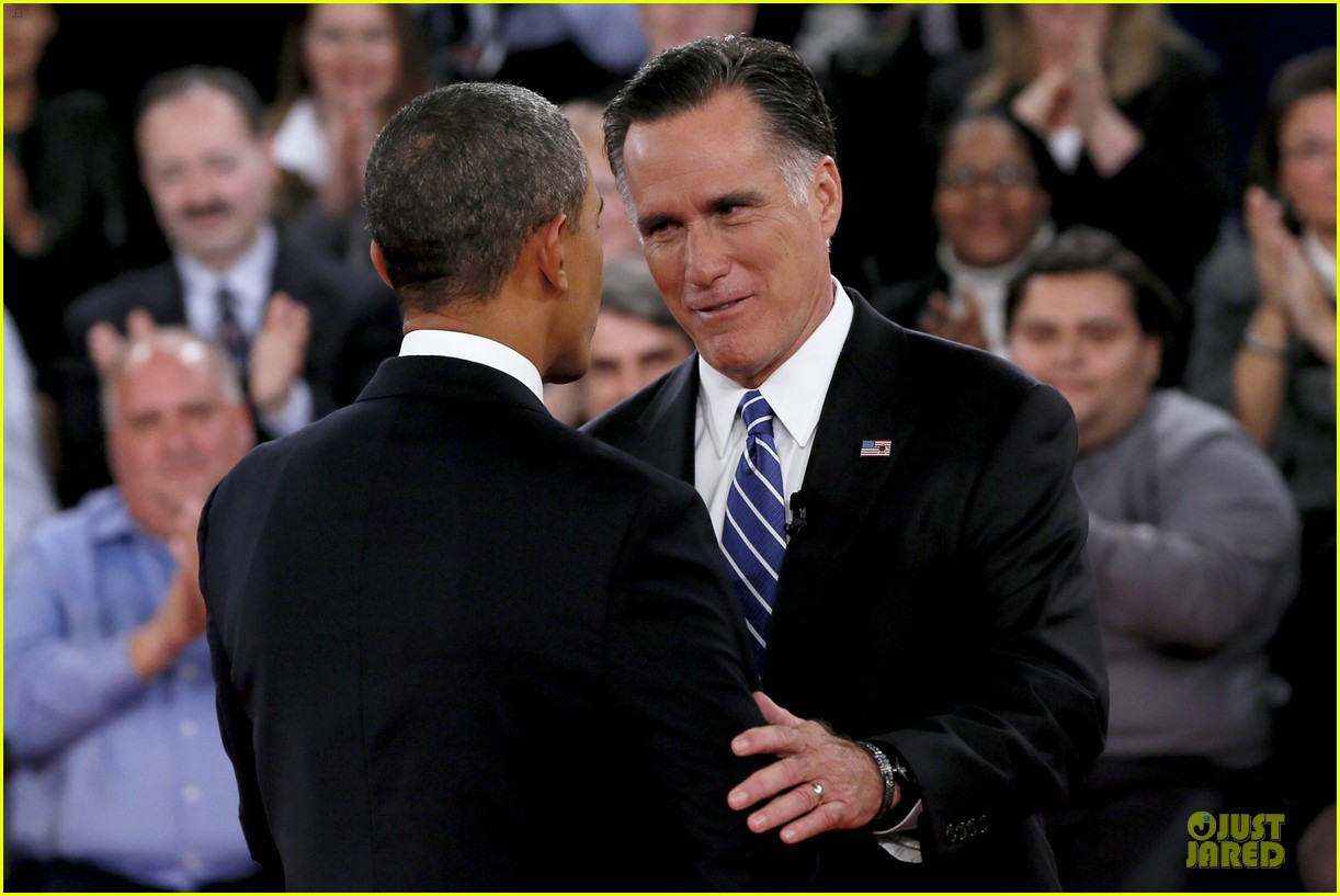 barack obama mitt romney second presidential debate 16