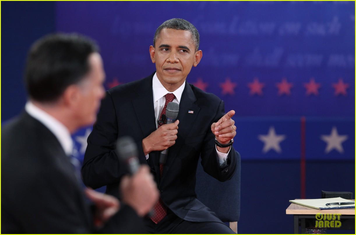 barack obama mitt romney second presidential debate 19