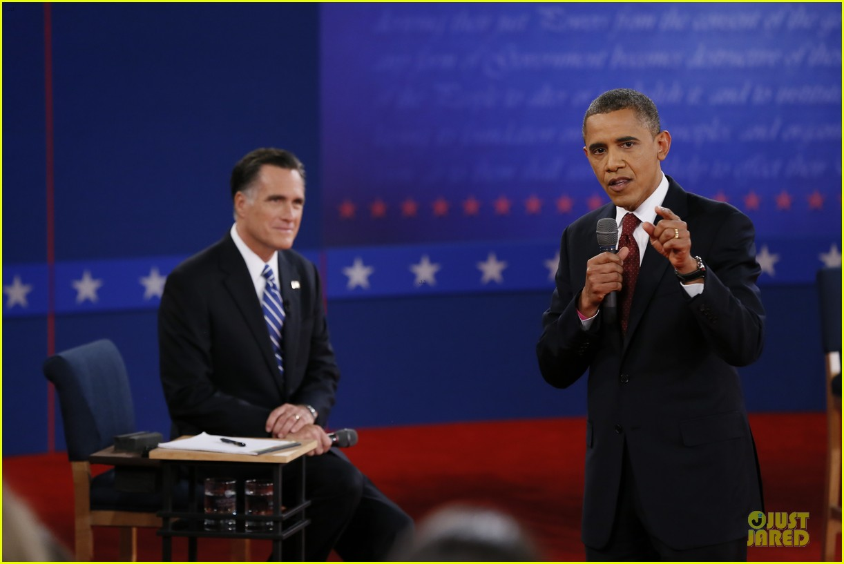 barack obama mitt romney second presidential debate 22
