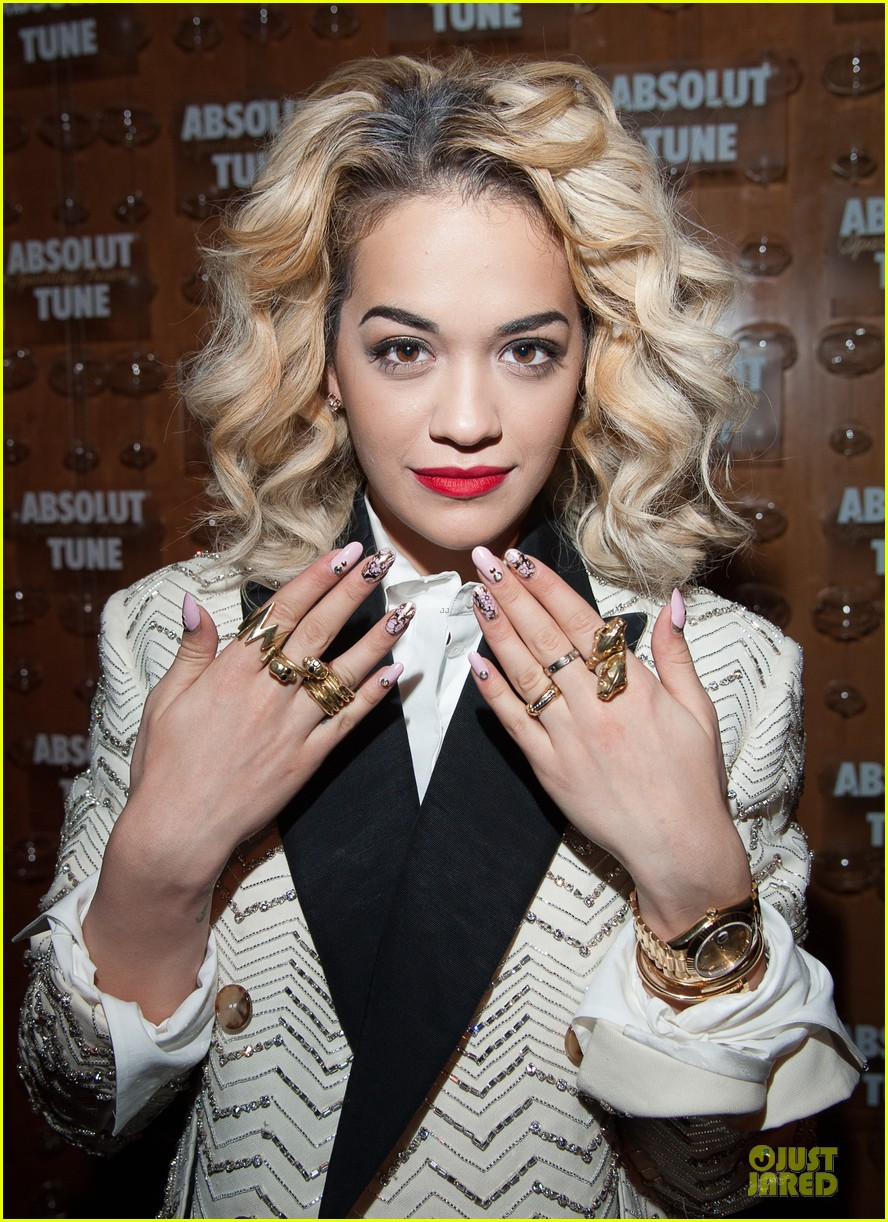 rita ora solange knowles absolut tune launch party 02