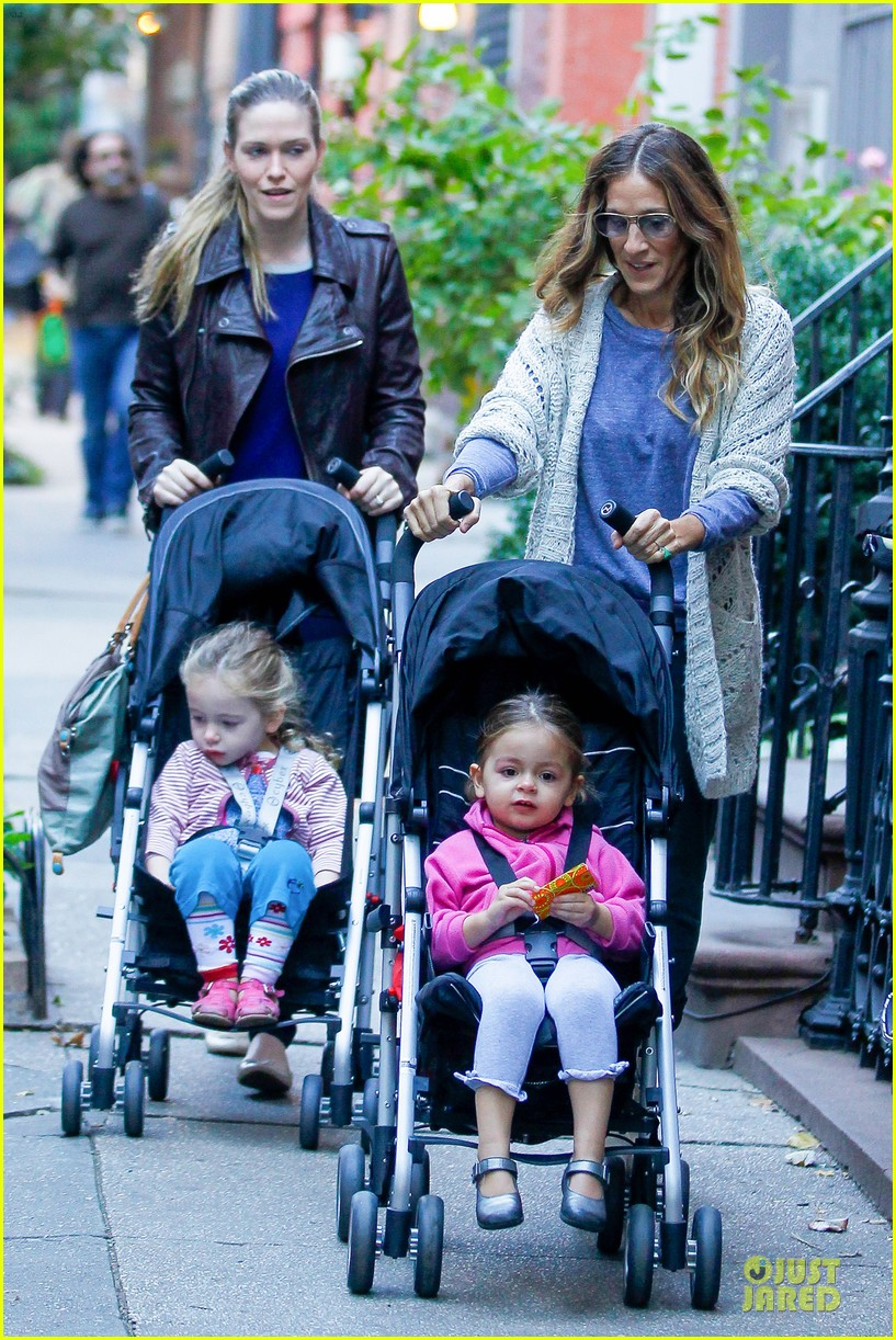 sarah jessica parker school walk with james marion tabitha 082743823