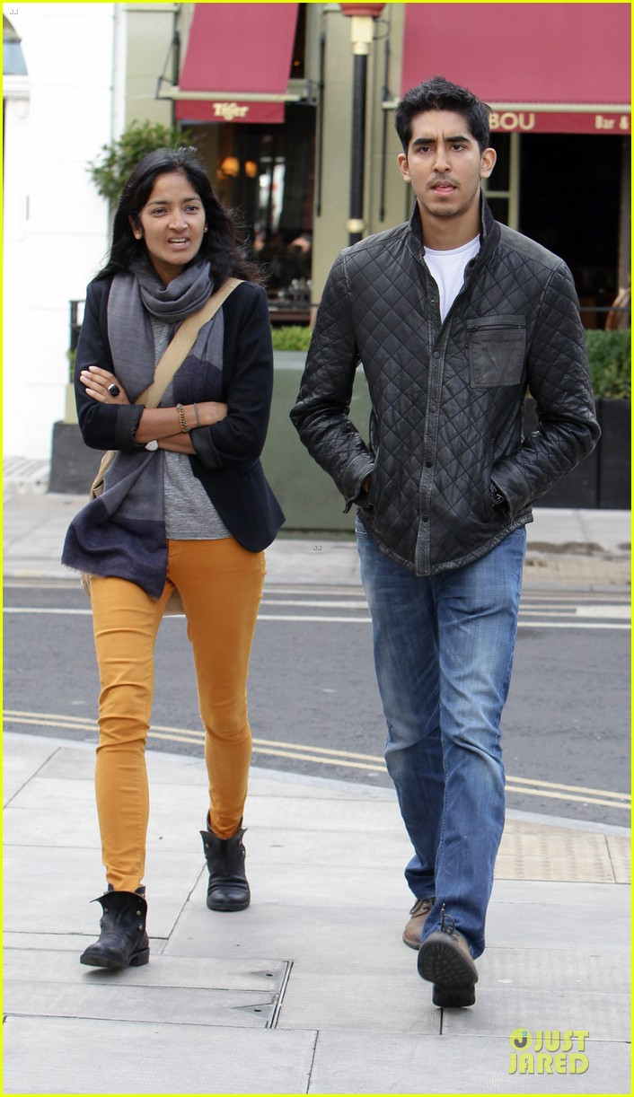 dev patel london stroll with gal pal 05