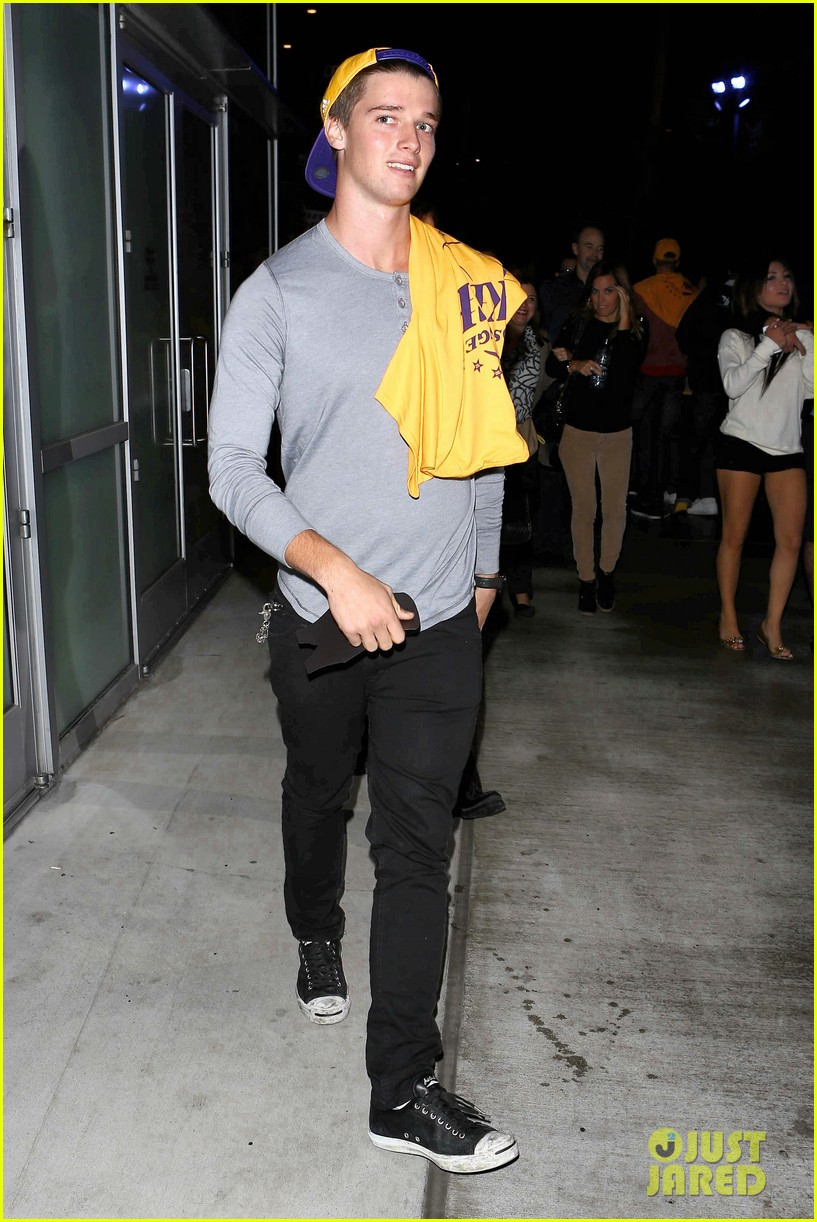 patrick schwarzenegger lakers opening night is one of my favorite nights 10