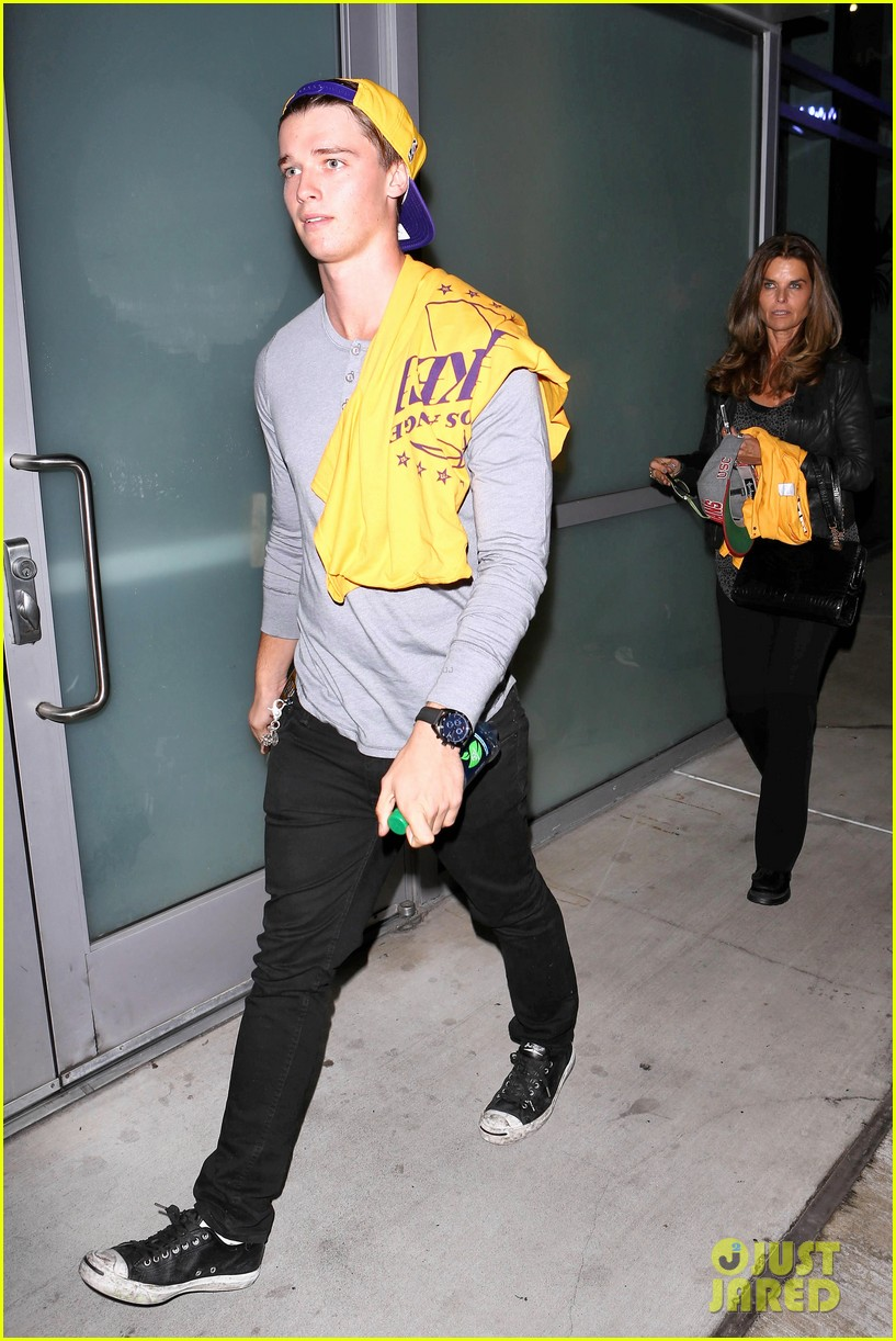 patrick schwarzenegger lakers opening night is one of my favorite nights 11