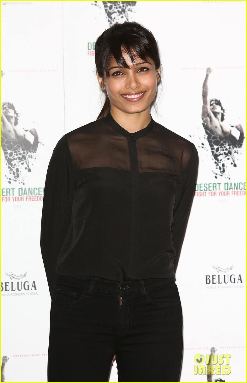 freida pinto desert dancer london photo call 05